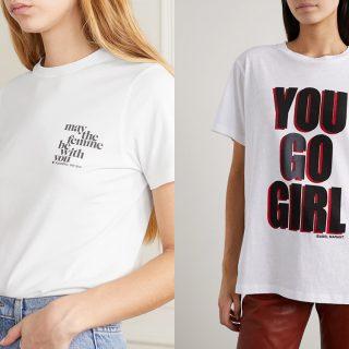 Menő pólókkal ünneplik a nőnapot a leghíresebb tervezők