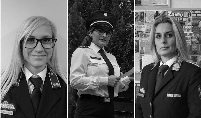 Született rendőrnők