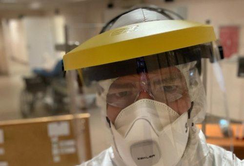 """""""120 órát dolgozom a 168-ból"""" – egy budapesti ápoló a koronavírus idején"""