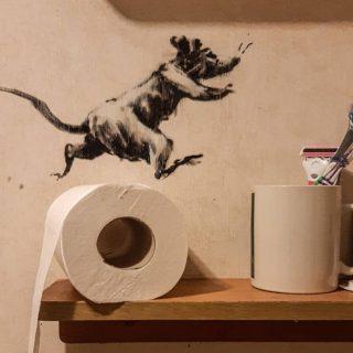 Banksy is home office-ban dolgozik a járvány alatt
