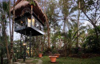 Modern és nomád találkozása Bali legmenőbb lombház-hotelében