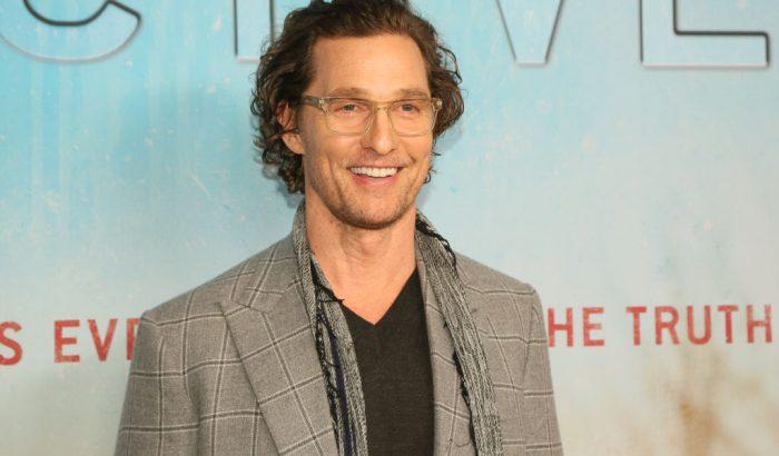 Végre kiderült, milyen szaga van Matthew McConaughey-nek