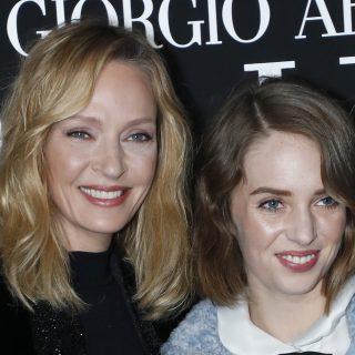 Uma Thurman ikonikus Mia Wallace-frizurát vágott lányának