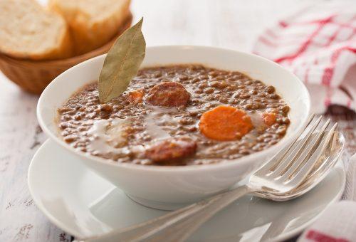 Napi receptsztori: lencseleves és túrós tészta