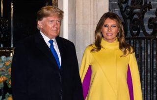 Melania Trump maszkot hord a vírus ellen – férje szerint felesleges