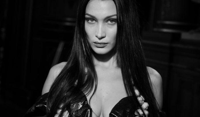 Bella Hadid pőre divatfotói a FaceTime-on keresztül készültek
