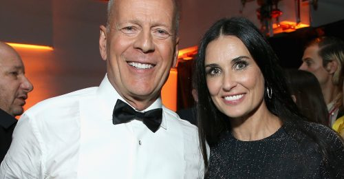 Demi Moore és Bruce Willis együtt vonultak karanténba