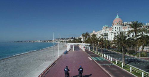 Karanténban Nizzában: a szigor biztonságérzetet kelt