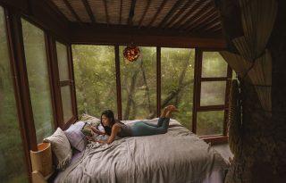 Nomád luxus mesebeli faházakban