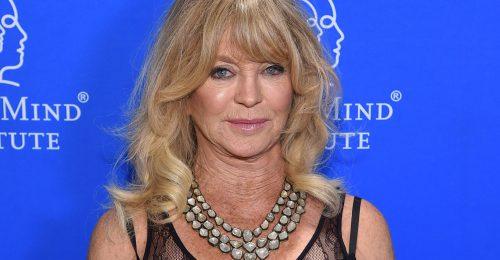 Goldie Hawn rengeteget sír a járvány miatt