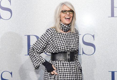 Diane Keaton élőben lomtalanítja a ruhásszekrényét