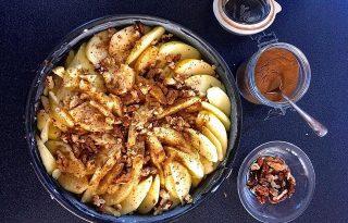 Karcsúsító ételek a strandszezon előtt: almatorta