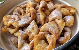 Nem piskóta: a forgácsfánk receptje