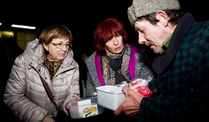 """Szalay Kriszta: """"Nagy bajban vannak most azok, akik az utcán élnek"""""""