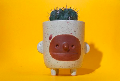 Ebben a mexikói stúdióban minden kerámia egyedi karakter