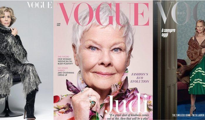 Ezek a nők 60 felett is meghódították a legnagyobb magazinok címlapjait