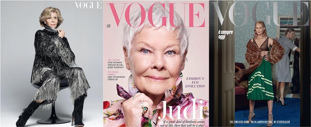 Ezek a nők 60 felett is meghódították a legnagyobb magazinok címlapjait | Marie Claire