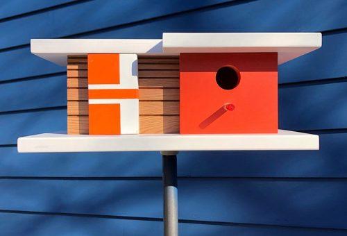 Modernista házakba költözhetnek a legszerencsésebb madarak