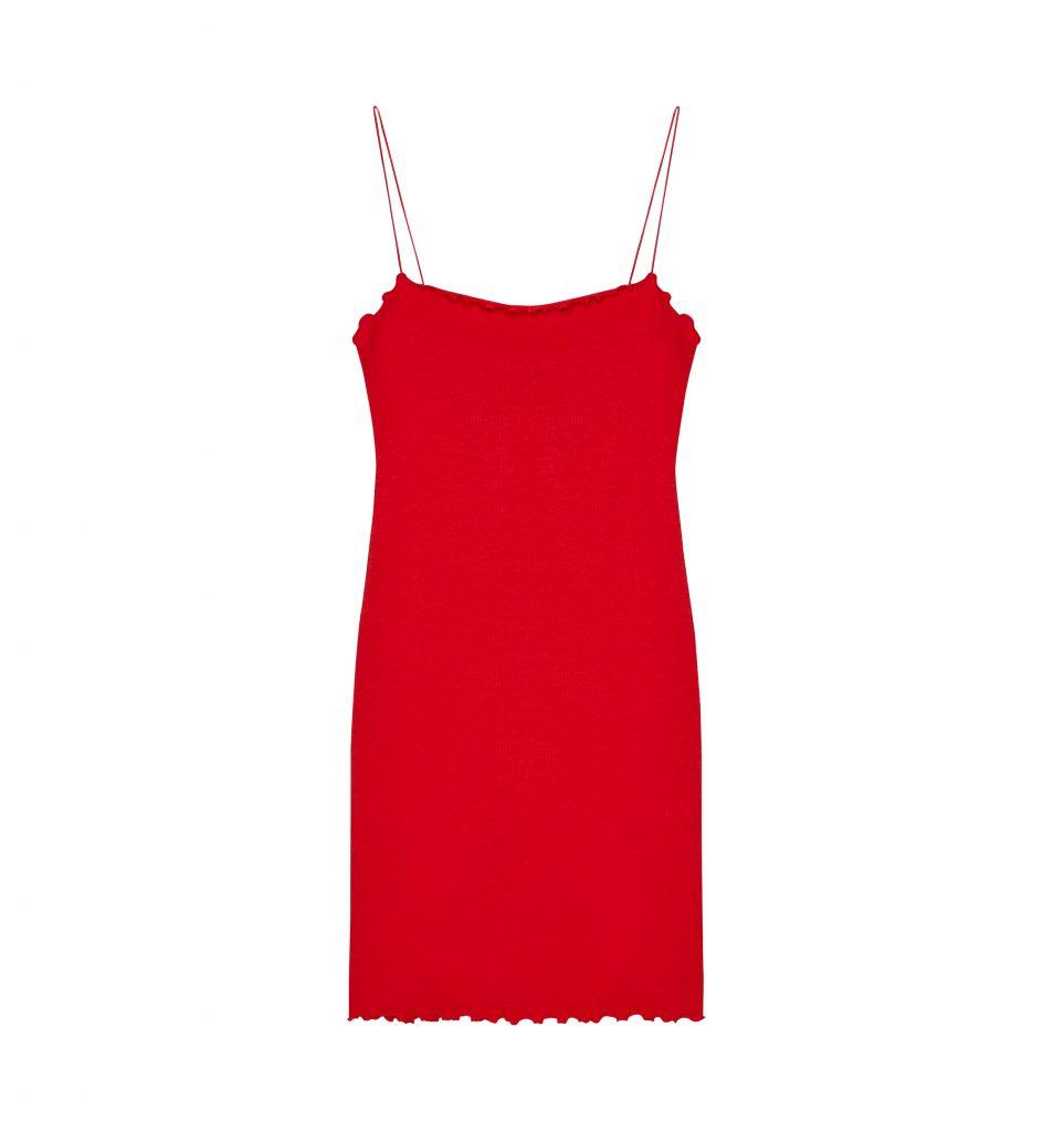 red-dress-bershka