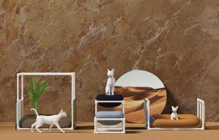 Moduláris macskabútor minimalista kivitelben