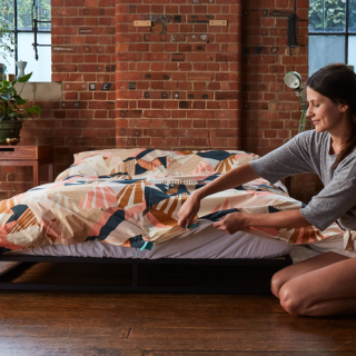 Kreatív dizájntárgy ment meg minket az ágy bevetésétől