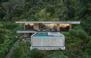 Pazar betonvilla Costa Rica szívében