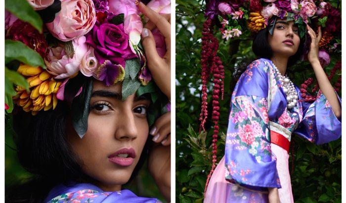 Kerényi Virág monumentális virágfejdíszekkel int be a karanténnak