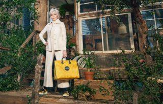 Jane Fonda a Gucci fenntarható kollekciójának új arca