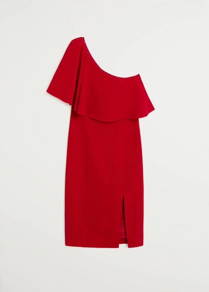 red-dress-mango