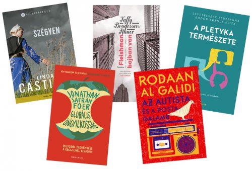 5 új könyv, amit el kell olvasnod