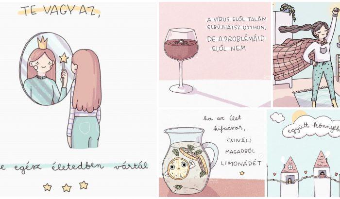 Magyar illusztrációk a mentális egészségért