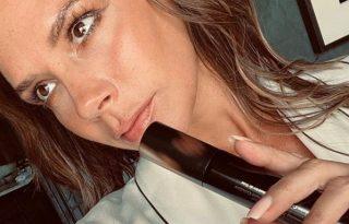 Victoria Beckham arany arcprimerje aranyáron van
