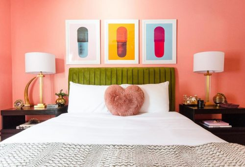 Némi pink még egy hálószobának sem ártott!