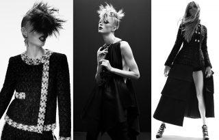 Punk haute couture kollekciót készített a Chanel