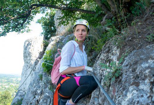 Gyere velem vidékre: sziklamászás Tatabányán – fő a biztonság!