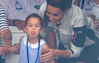 Katalin egy nagyon édes új fotót osztott meg Charlotte hercegnőről