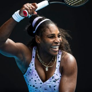 Serena Williams és lánya tökéletes páros a teniszpályán