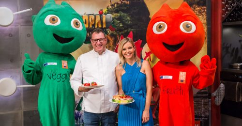 Közös élmények a konyhában: nyári receptek és hasznos tippek Wolf Andrástól és Marton Adrienntől