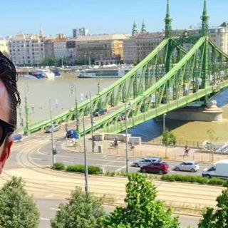 Látványos kisfilmben áradozik Budapestről Luke Evans