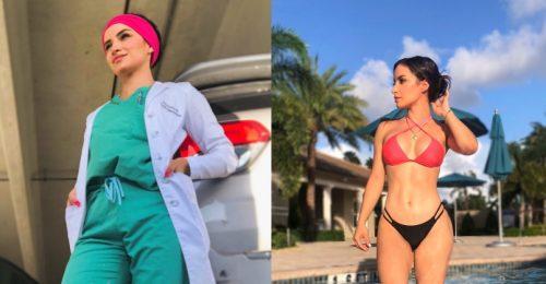 Baj, ha egy orvos bikinis képet posztol?