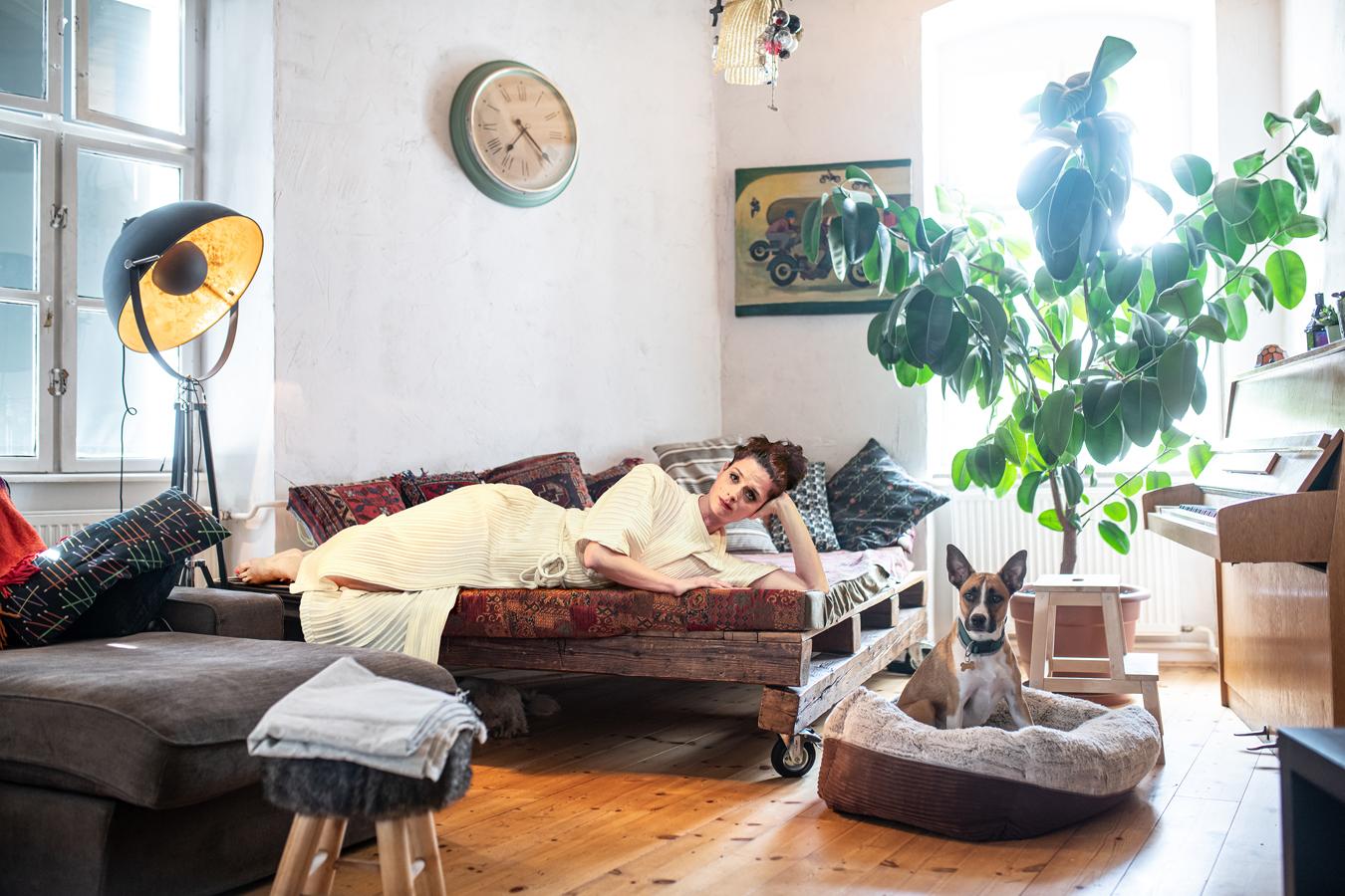 12. kép: JORDÁN ADÉL Octavia — Poppea megkoronázása Fotó: Neményi Márton  Előadáskép: Horváth Judit