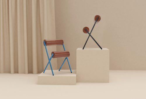 Kondigépek inspirálták a minimalista székeket