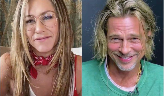 Jennifer Aniston és Brad Pitt közös munkája flörtölősebbre sikerült, mint gondolták volna