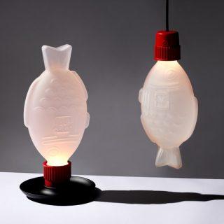 Lámpa lett az ikonikus szójaszósos halból