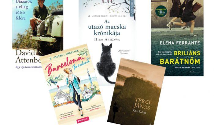 Nyáridéző őszi olvasmányok: virtuális utazás e-könyvekkel