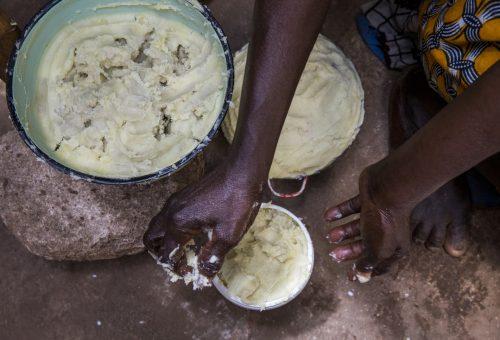 100%-os afrikai vajak kiszáradt bőrre