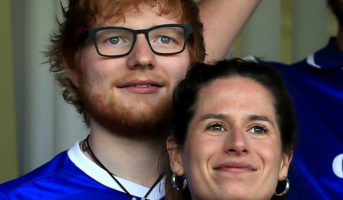 Ed Sheeran büszke apa lett