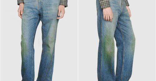 Füves nadrágot dobott piacra a Gucci