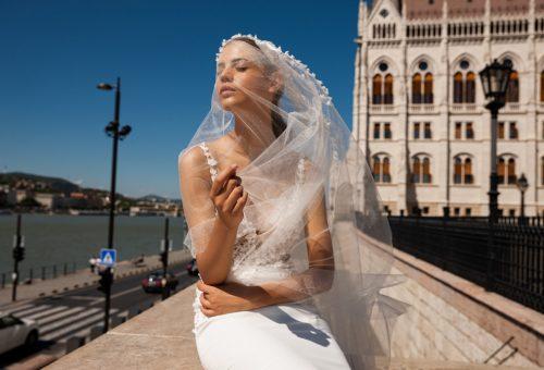 A Daalarna menyasszonyi ruhái Budapest szépségét éltetik