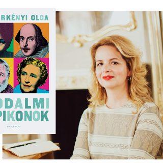 Popikonok az irodalomban – megjelent Szederkényi Olga különleges interjúkötete